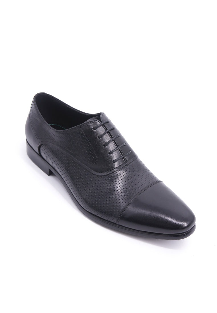 Hanson Bootmaker Lace-up Oxford - Black