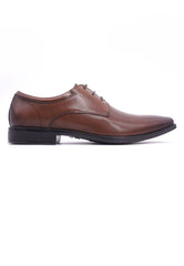 Hanson Bootmaker LacEasy Derby-Brown