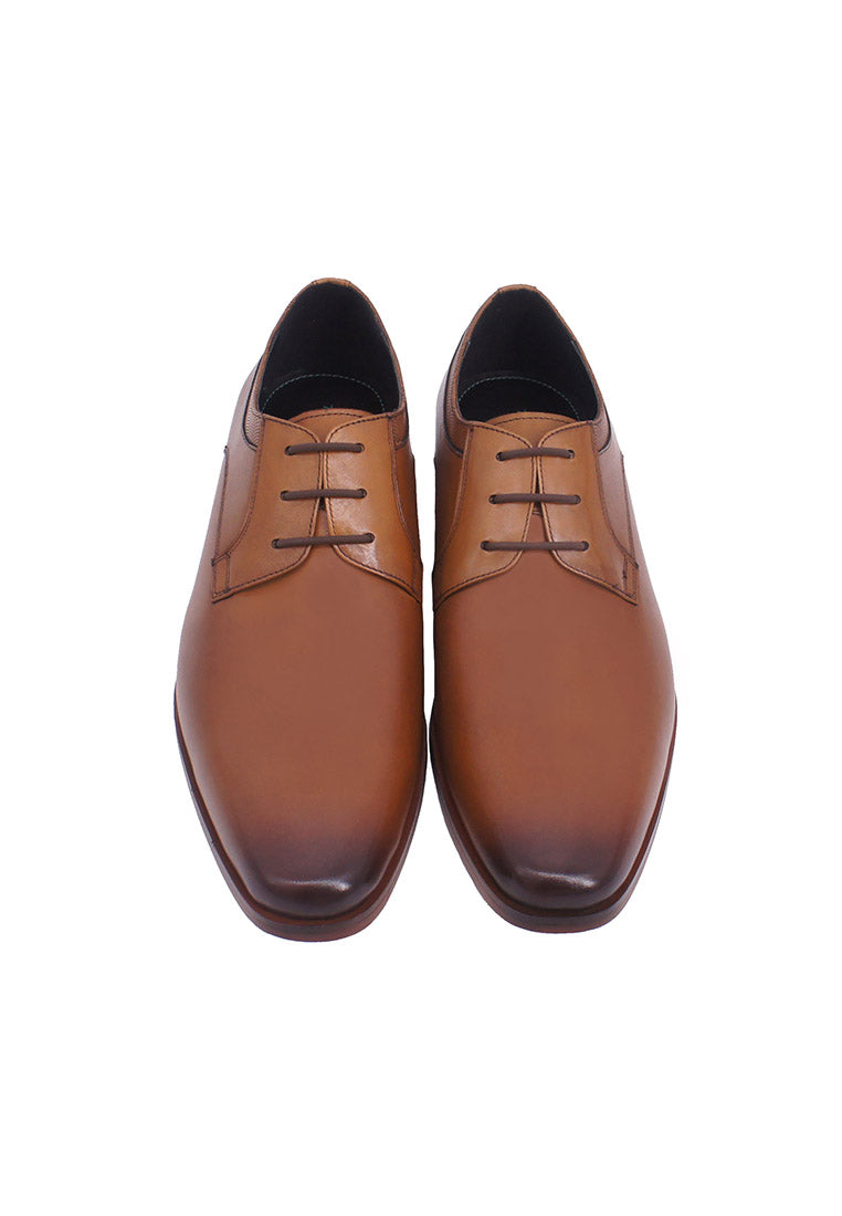 Hanson Bootmaker LacEasy Derby- Brown