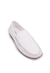 Rad Russel Moccasins - White
