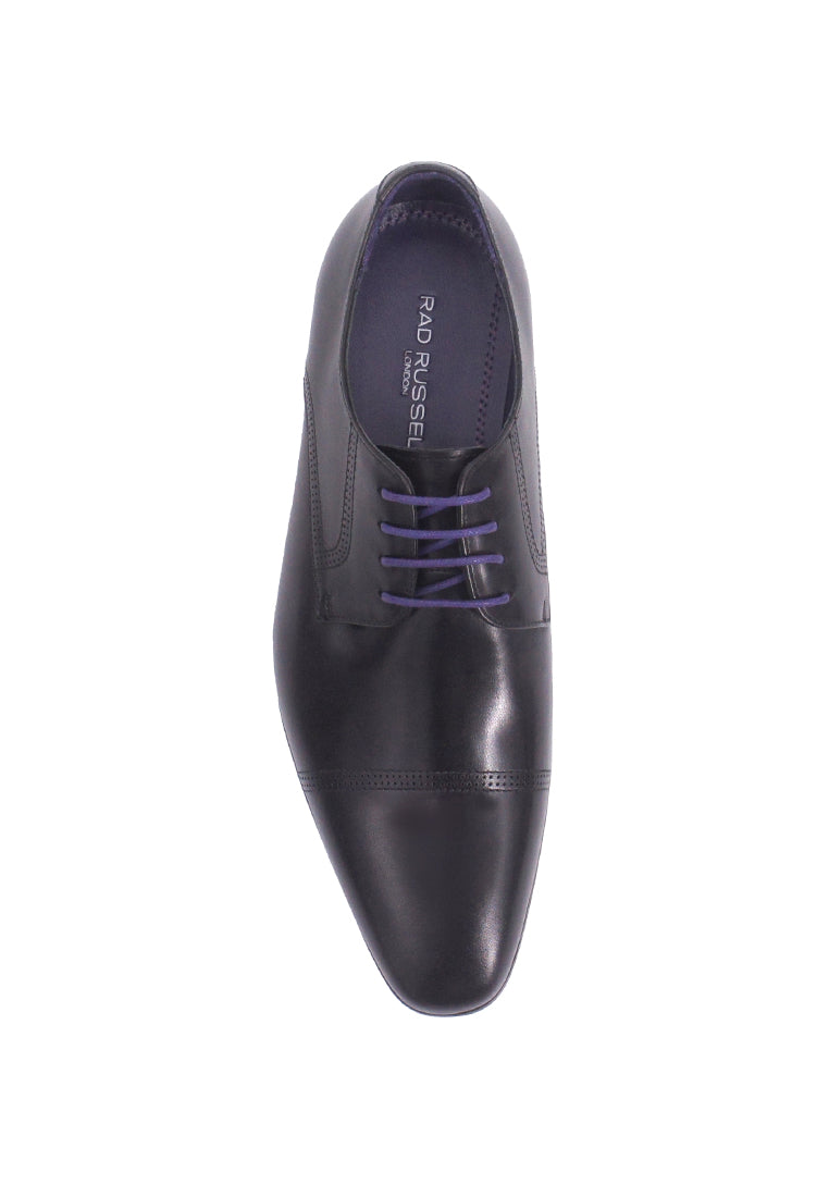 Rad Russel Lace-up Derby- Black