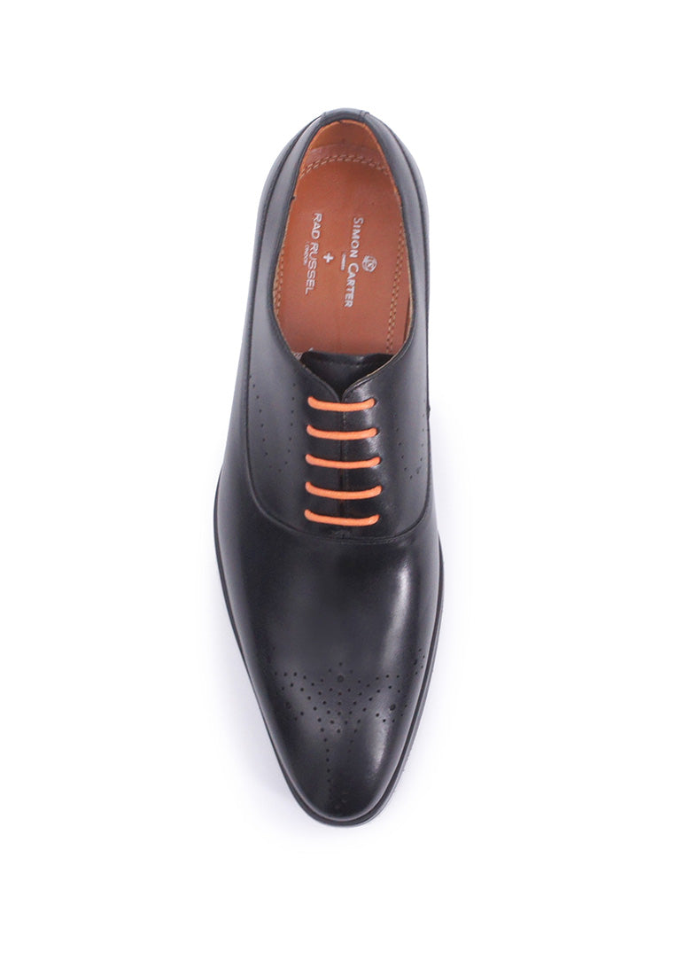 Rad Russel + Simon Carter Lace-up Oxford - Black