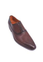 Rad Russel + Simon Carter Lace-up Oxford - Brown