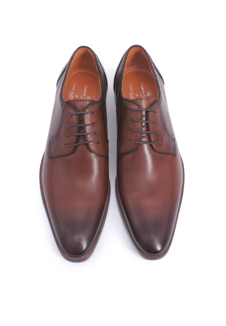 Rad Russel + Simon Carter Lace-up Derby - Brown
