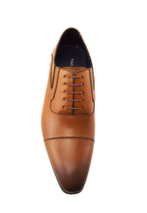 Rad Russel Lace Up Oxford-Tan