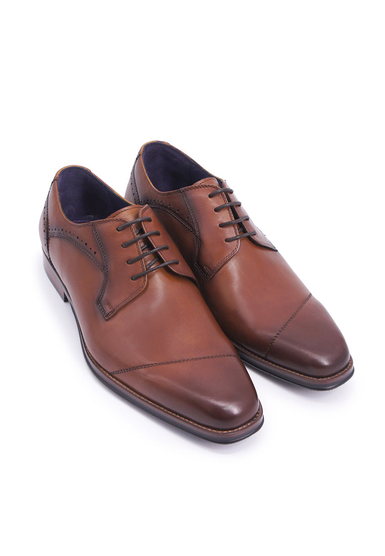 Rad Russel Lace-up Derby - Tan