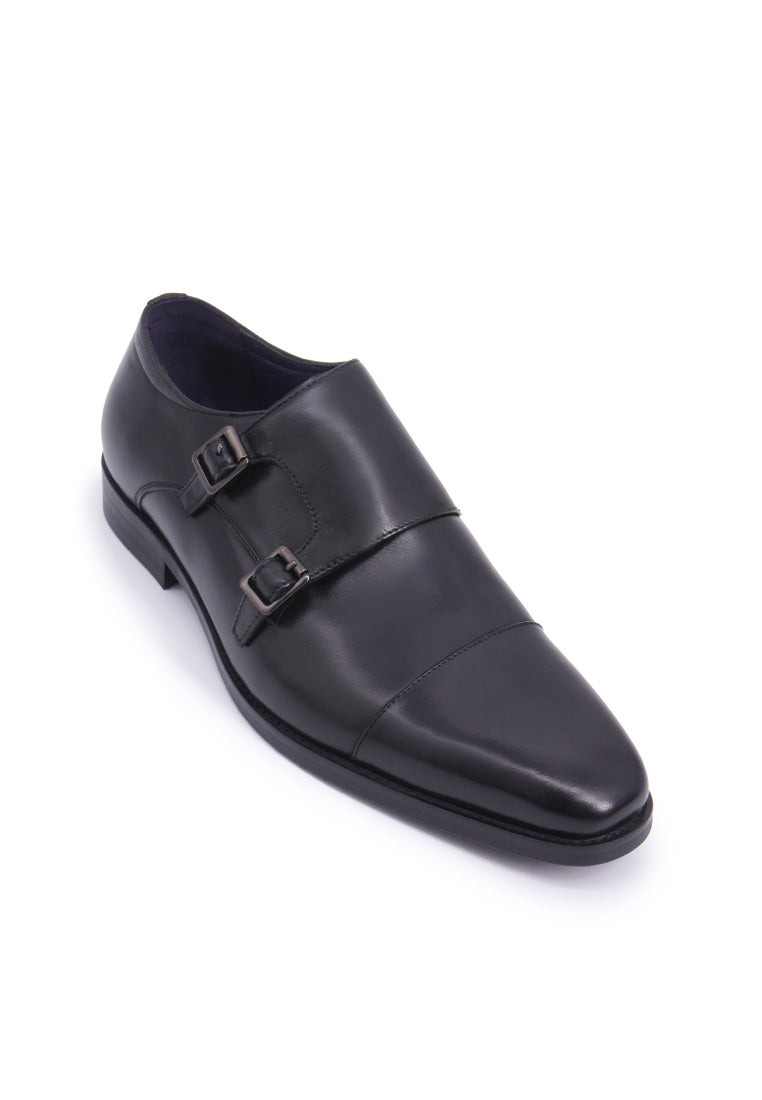 Rad Russel Double Monk Strap - Black