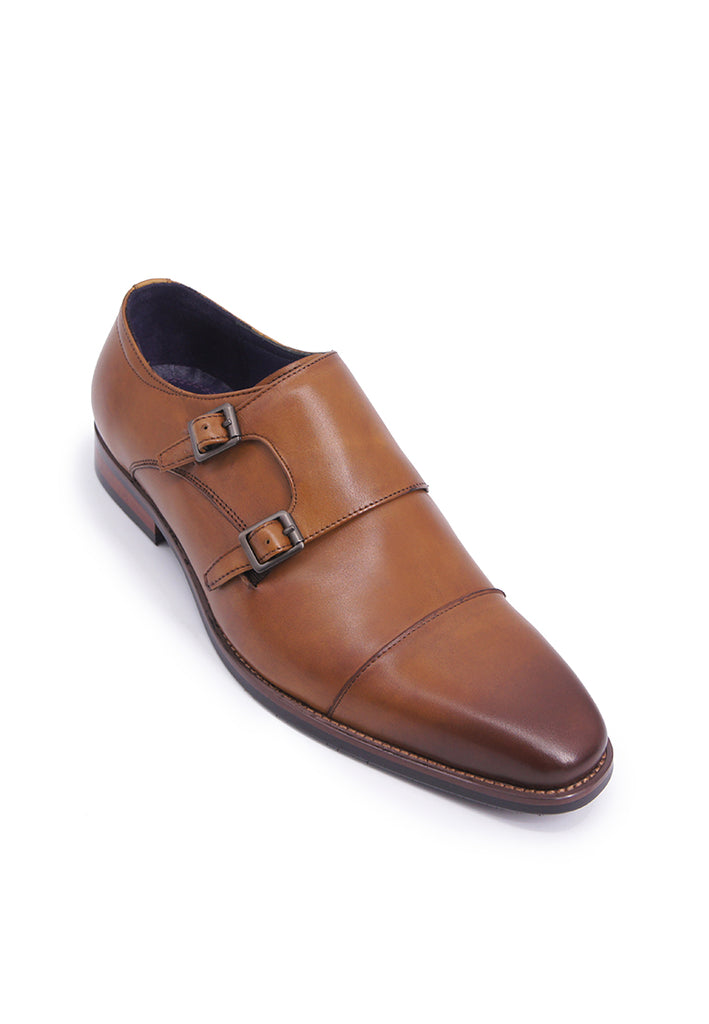 Rad Russel Double Monk Strap - Tan