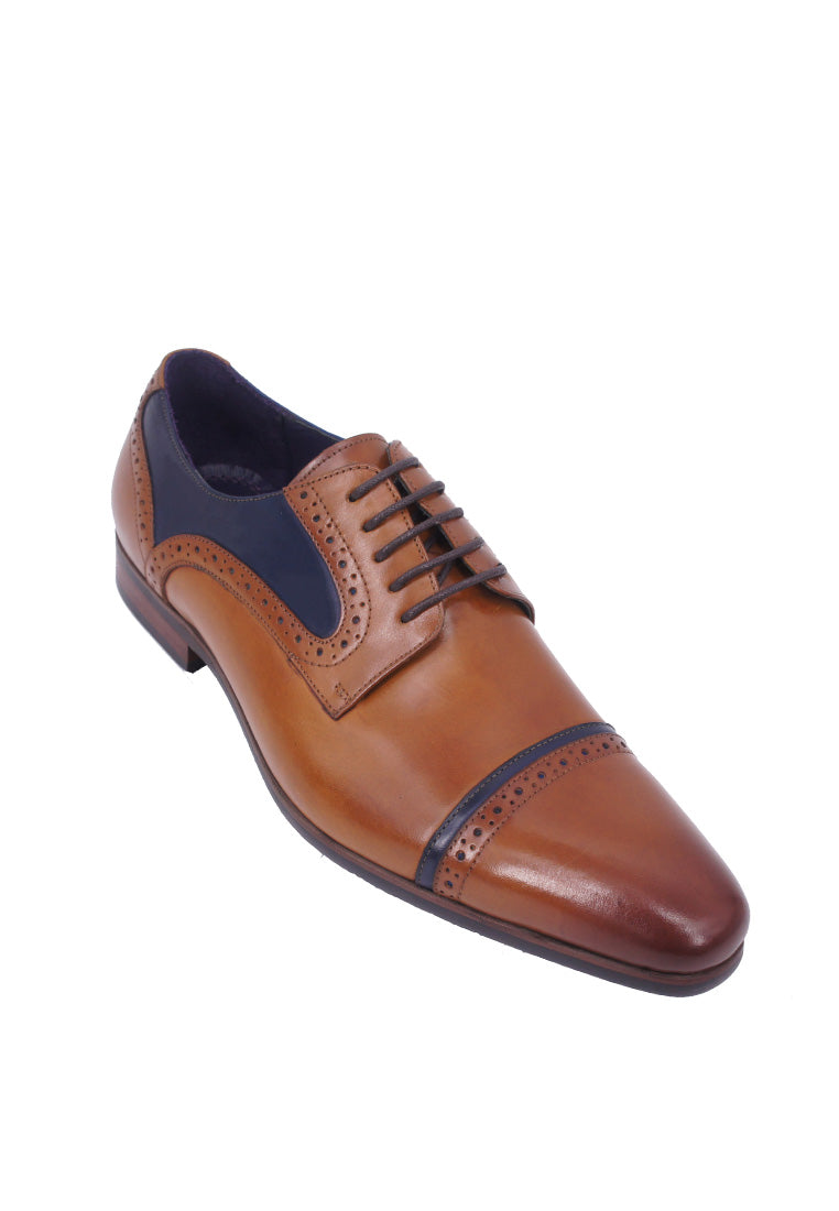 Rad Russel Two-tone Derby - Tan