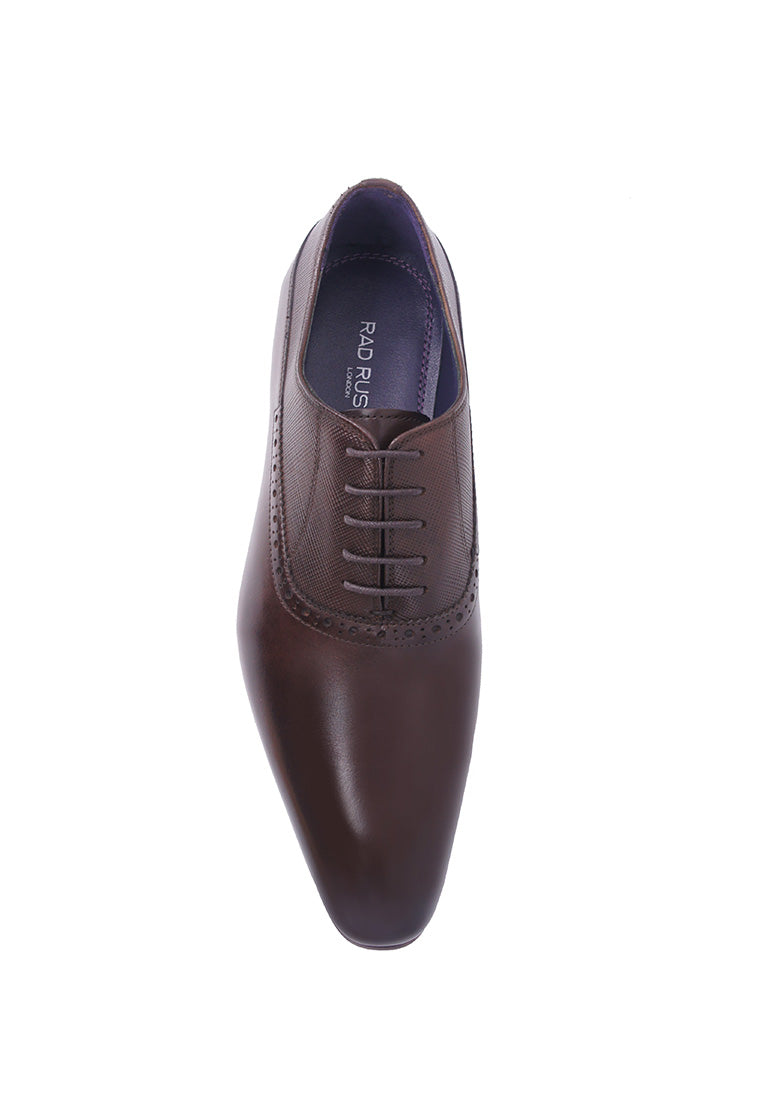 Rad Russel Lace-up Oxford - Coffee