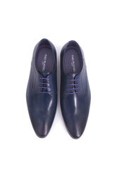 Rad Russel Lace-up Derbies - Navy