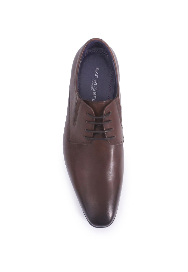 Rad Russel Lace-up Derby- Brown
