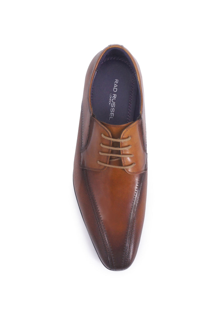 Rad Russel Lace-up Derby- Tan