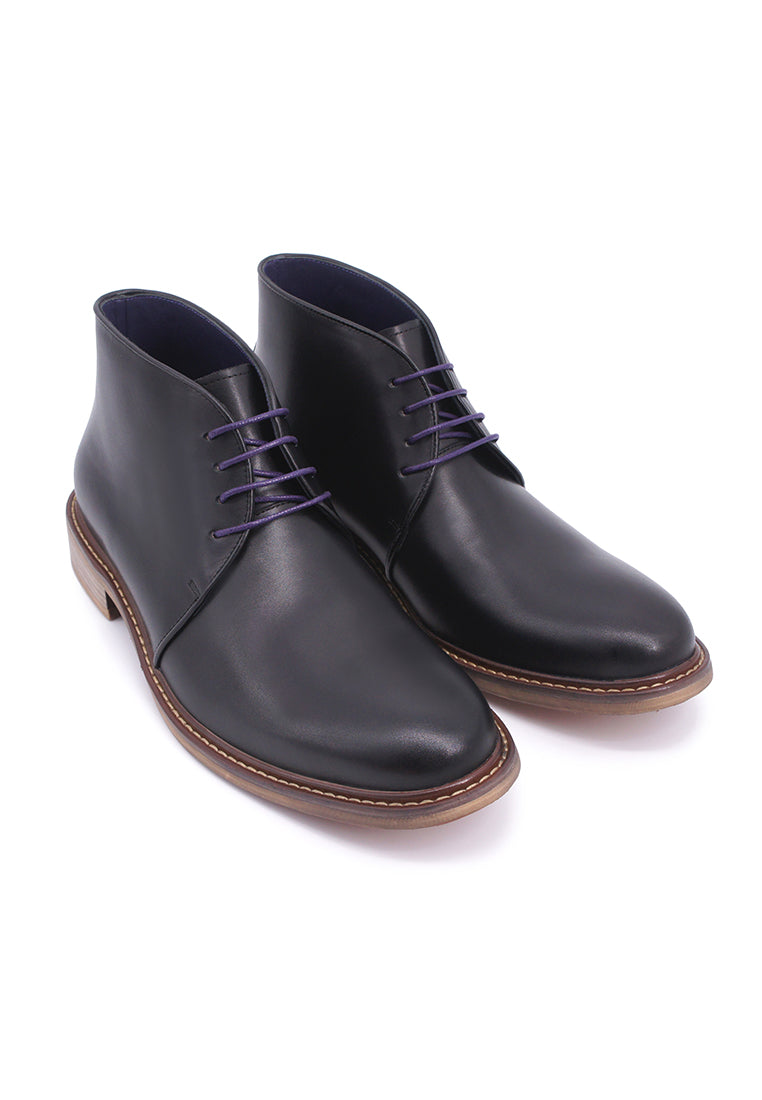 Rad Russel Lace-up Boots - Black