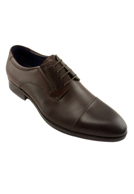 Rad Russel Lace Up Derby - Burgundy