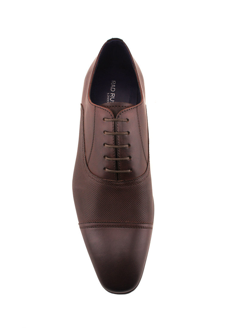 Rad Russel Lace Up Oxford - Brown