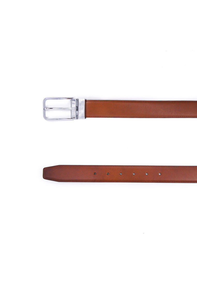 Rad Russel 1.3inch Leather Belt - Tan