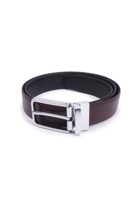 Rad Russel 1.3inch Leather Belt - Coffee