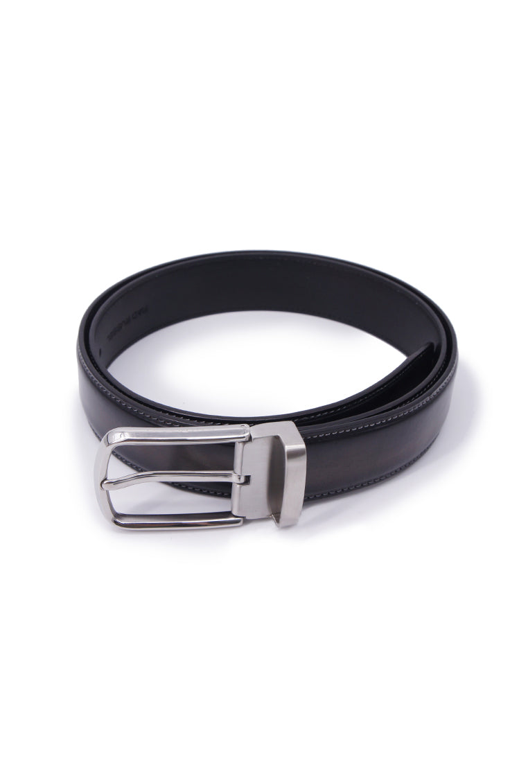Rad Russel Leather Belt - Black