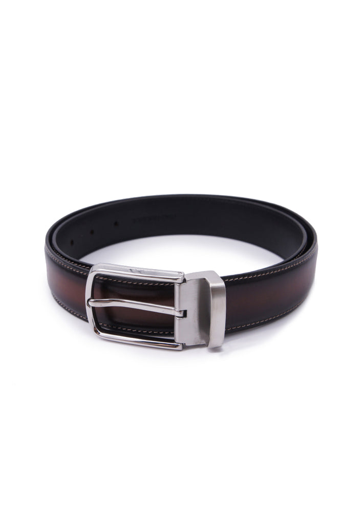 Rad Russel Leather Belt - Coffee