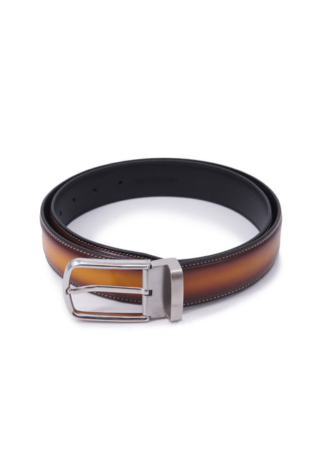 Rad Russel Leather Belt - Tan
