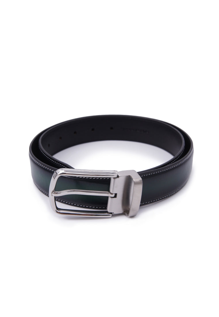 Rad Russel Leather Belt - Green