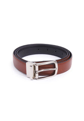 Rad Russel 1.2inch Leather Belt - Tan