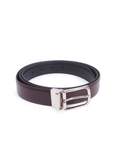 Rad Russel 1.2inch Leather Belt - Coffee