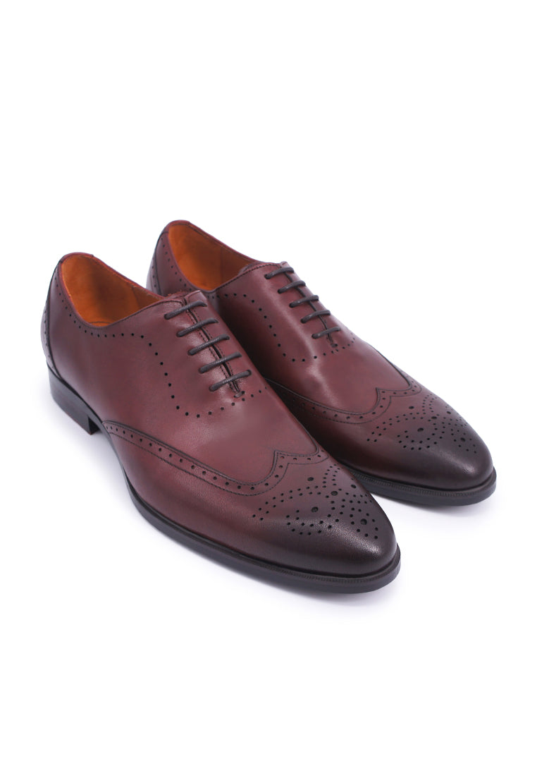 Simon Carter Lace-up Oxfords - Burgundy