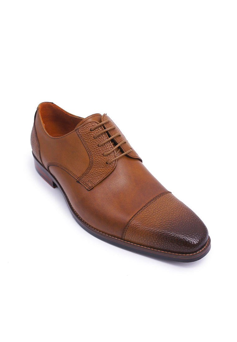 Simon Carter Lace-up Derbies - Tan