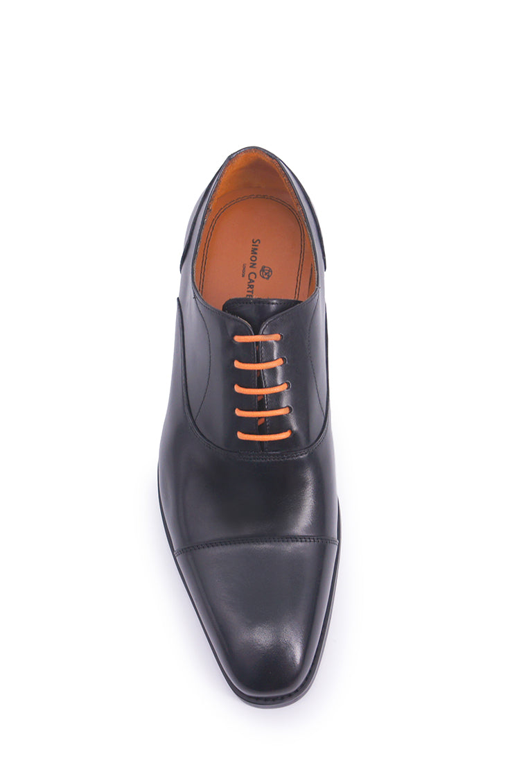 Simon Carter Lace-up Oxfords - Black