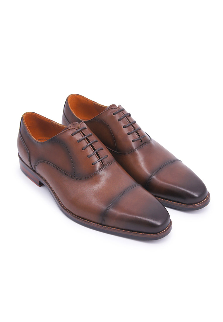 Simon Carter Lace-up Oxfords - Brown