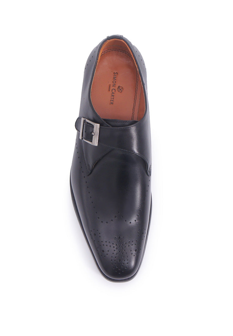 Simon Carter Monkstrap - Black