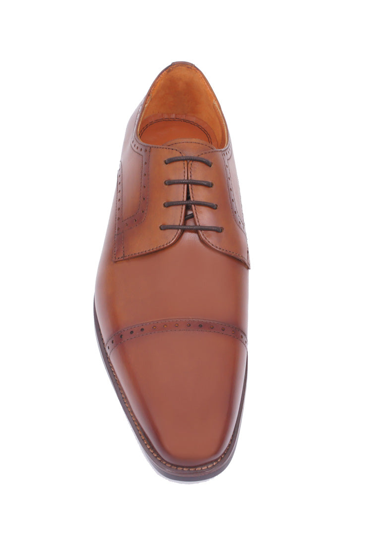 Simon Carter Lace-up Derby - Brown