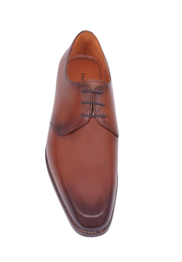 Simon Carter Lace-up Derby - Tan