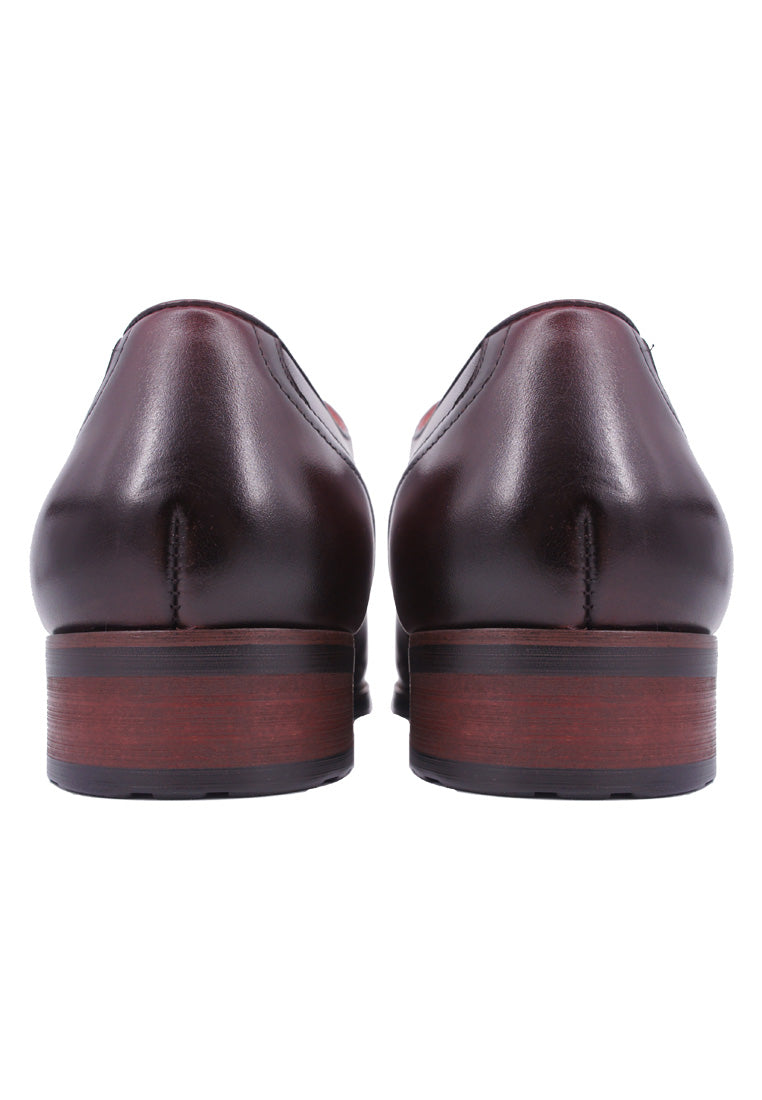 Simon Carter Lace-up Oxford - Burgundy