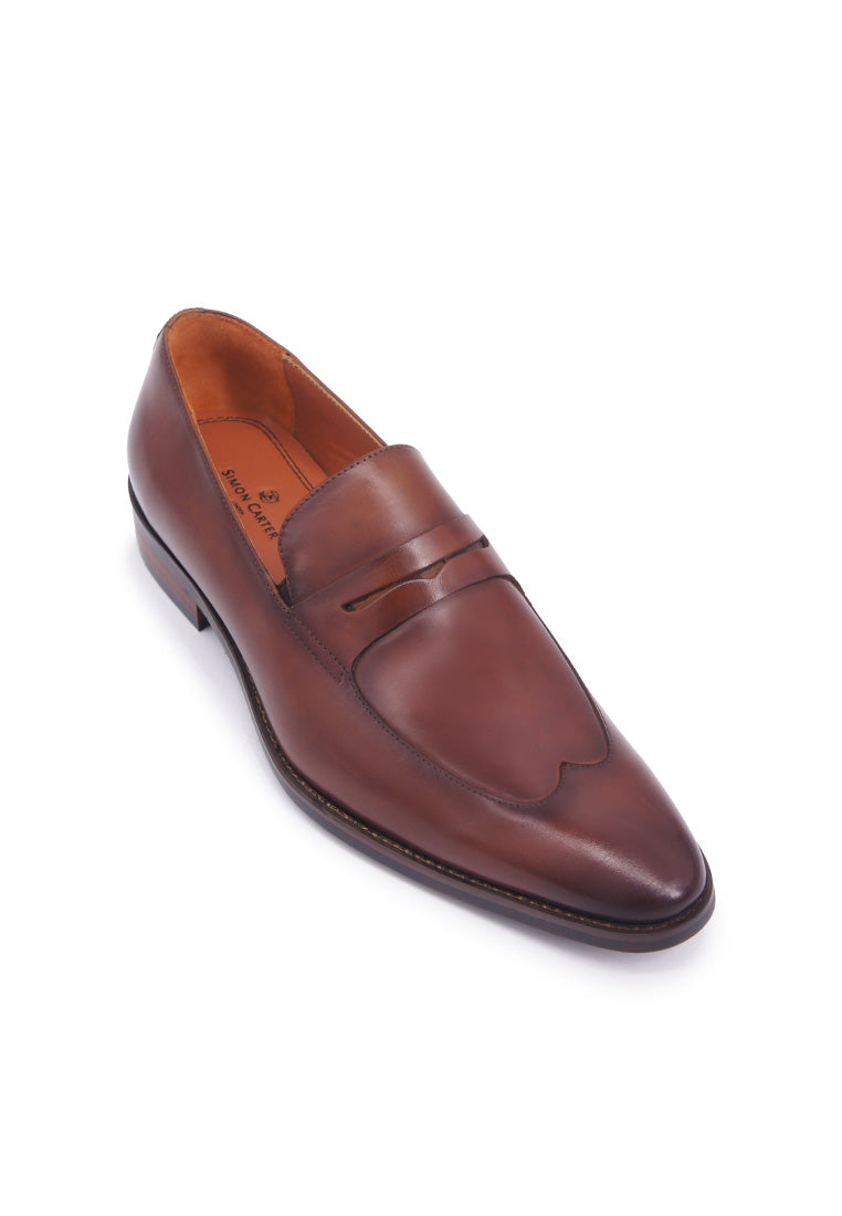 Simon Carter Penny Loafer - Brown