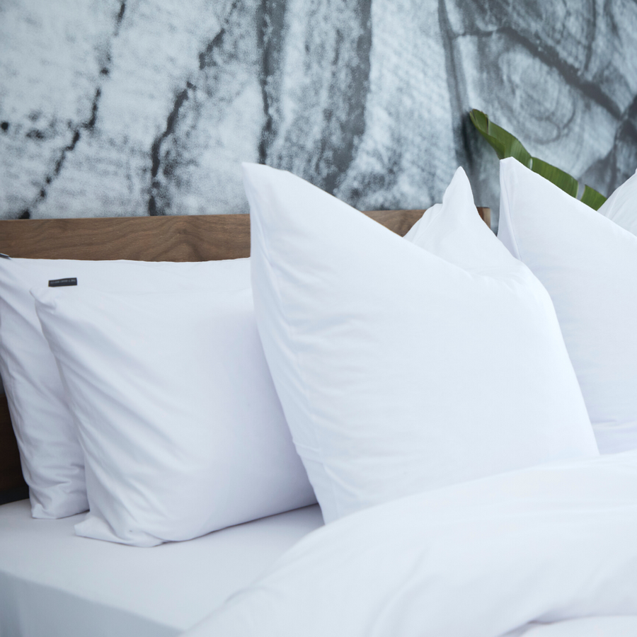 Scandinavian White Duvet Cover Set