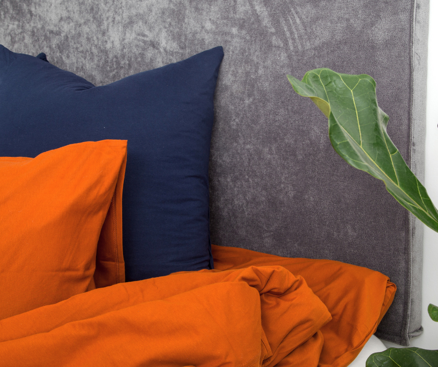 Rust Duvet Cover Set
