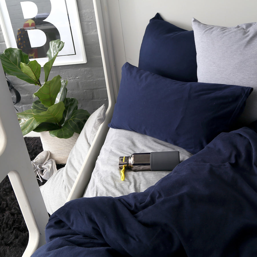 Navy Duvet Cover Set - SOLD OUT