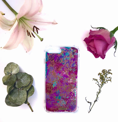 Funda Iphone Purple Rose