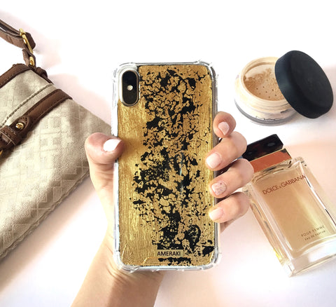 Funda Iphone Gold