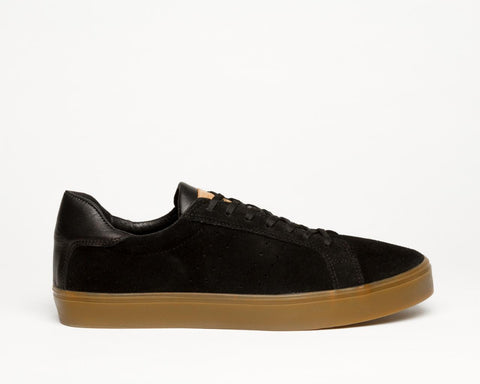 NYS Rubber Band Black Suede