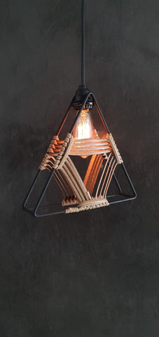 Triangle Lamp Retro