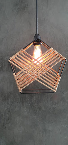 Hexagonal Part Lamp Retro B