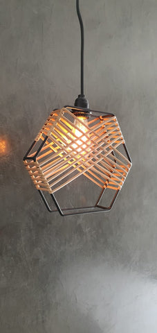 Hexagonal Part Lamp Retro
