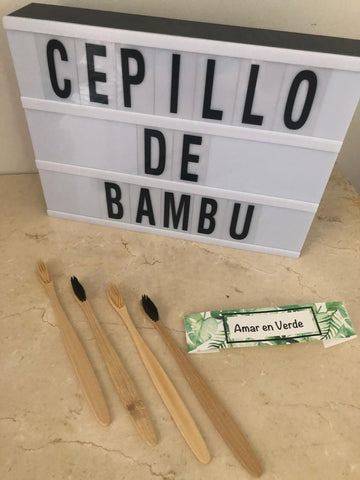 Cepillo Dental de Bambú