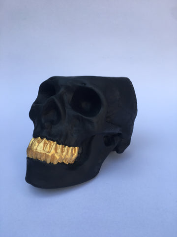 Calavera Black Golden
