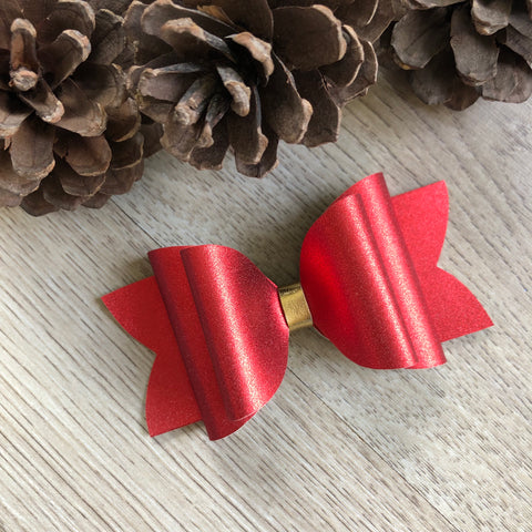 Red Shine Bow