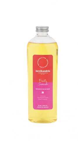Repuesto/ Refil de difusor de varillas aromático Fruity Seaside 400 ml